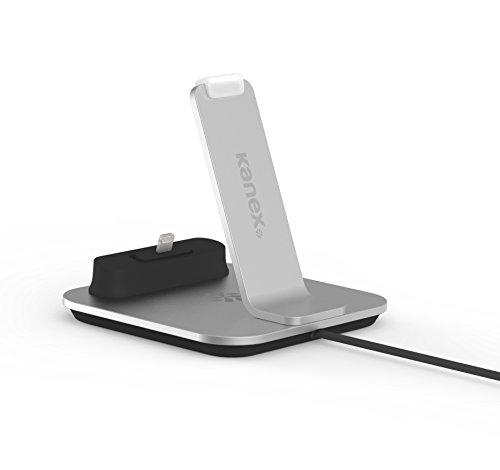 Kanex Premium DuraFlex kabel MFi Lightning naar USB, 1,2 m, Dockingstation, zilver