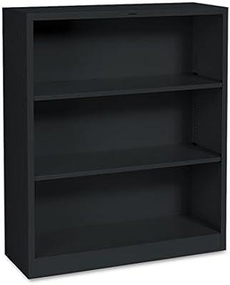 Metal Bookcase Three Shelf 34 1 2w X 12 5
