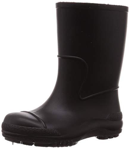 [アキレス] レインブーツ 長靴 抗ウイルス 日本製 14cm~21cm 2E キッズ 男の子 女の子 SCB 1150 ブラック 14.0 cm