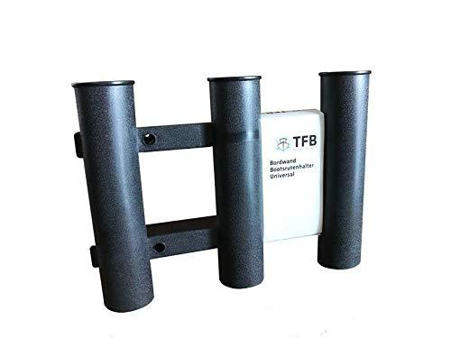 Technik fürs Boot TFB Bordwand Rutenhalter Boot Größe OneSize Schwarz (schwarz)
