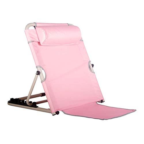 szy Bettkeile Bett-Wedges Positionierer Edelstahl Bett Rückenstütze Bett-Kissen Betten Schlafzimmerhilfen Zubehör Faltbare (Color : Pink, Size : 50 * 60 * 50cm)