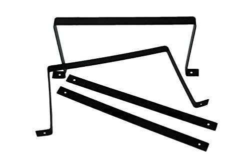RCI 7517A Mounting Strap, 2060 Series Fuel Cells, Black Anodize, 6 Gallon, Set of 4