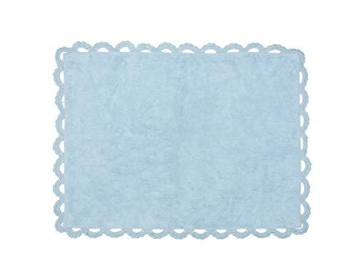 Aratextile. Tapis pour enfant 100 % coton lavable en machine Collection Eden Multi 120 x 160 cm