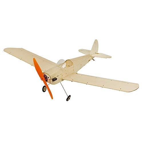 DW Hobby RC Avion Mini Bois de Balsa Avion Modèle Spacewalker électrique Radio Remote Control Avion pour l'intérieur et Parc Fly 380mm Envergure Avion Modèle Construction Kits