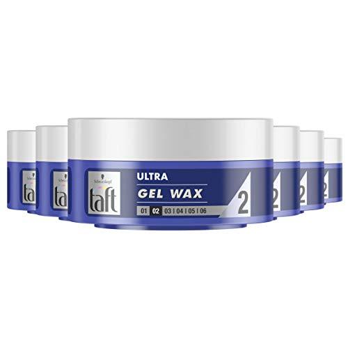 Schwarzkopf Taft Ultra Gel-Wax Structure 75ml, 6 stuks