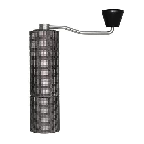 TIMEMORE Chestnut C2 MAX - Molinillo de café manual de capacidad de 30 g con rebabas cónicas de acero inoxidable CNC ajuste ajustable interno, posicionamiento de doble cojinete (negro)