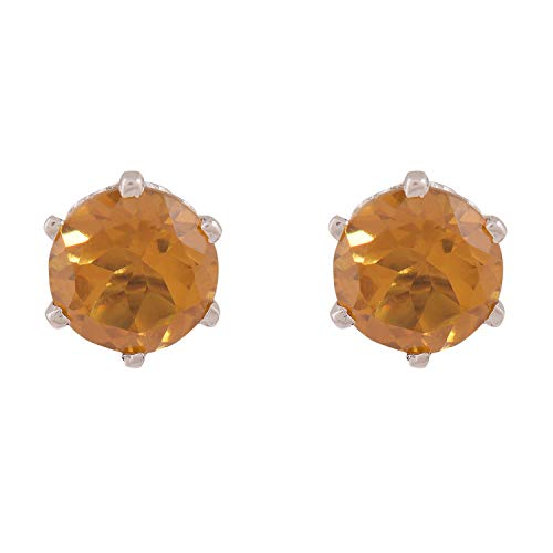 Silverwala 925-92.5 Sterling Silver Zultanite Stone Fashion Stud Earring For Women And Girls (Changes Colour In Different Condition Light)