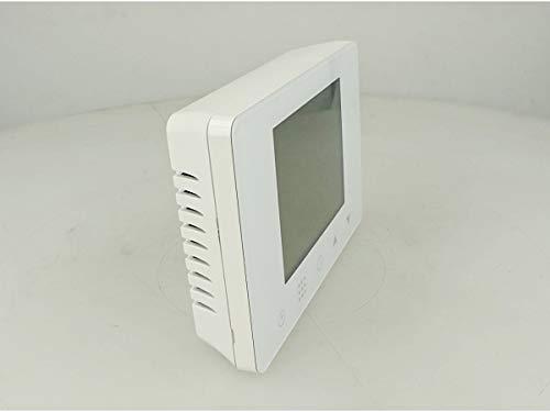 LEDLUX LL0253 Termostato Digitale Programmabile Per Caldaia A Gas Murale Da Parete Scatola 503 Riscaldamento Termosifone Ad Acqua WiFi Compatibile Con Amazon Alexa Echo 3A 220V