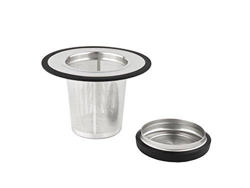 Bredemeijer Tea Filter whiteh Coaster, Stainless Steel, Silver, 118.8 cm