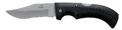 Gerber Gator Folding Knife, Serrated Edge, Clip Point [46079]