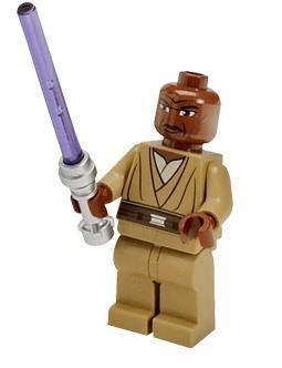 LEGO Star Wars - Mace Windu minifigur