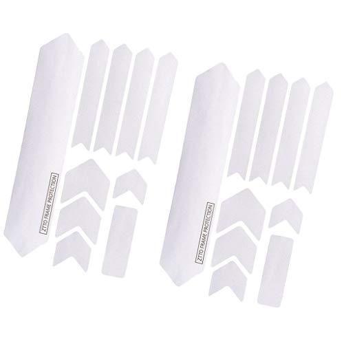 SM SunniMix 2 X Pegatinas Protectoras de Marco 3D Paster Impermeable Resistente a Los Arañazos