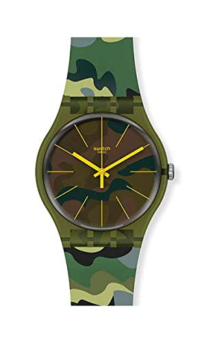 Orologio Swatch New Gent SUOG114 CAMOUFOREST