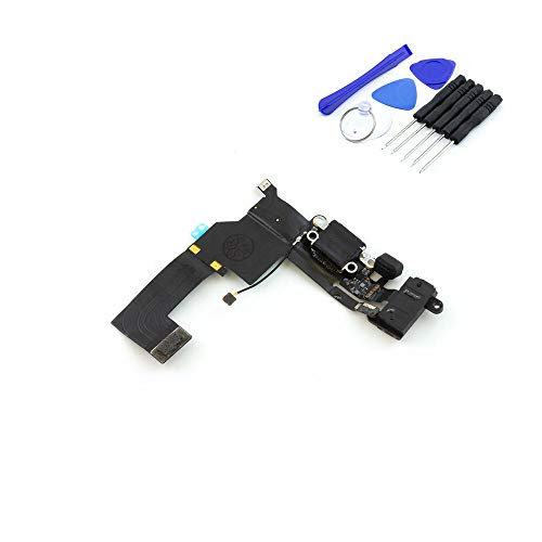 kaputt.de Dock Connector Ladebuchse für iPhone 5s | Mikrofon | Kopfhörer-Buchse | Platine inkl. DIY Reparatur-Set