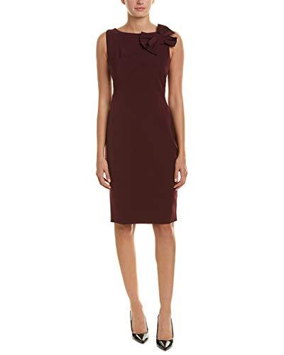Eliza J Women's Sleeveless Sheath Dress with Bow Shoulder, Purple, 12