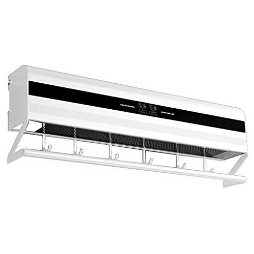 WGFGXQ 295w, Toallero eléctrico Inteligente, Esterilización Ultravioleta, Desinfección de Interiores, Control automático, Rejilla de Secado para baño, Rejilla de Aluminio Espacial