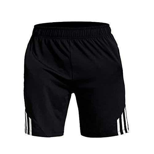 Asfixiado Sport-Shorts für Jungen, Jungen, schwarz / weiß, Large