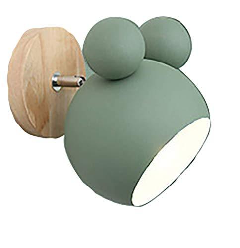 Apliques Pared lámpara de pared del dormitorio nórdico Mic
