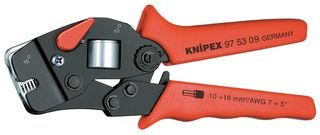 Best Price Square Crimp Tool, BOOTLACE FERRULES 97 53 09 by KNIPEX