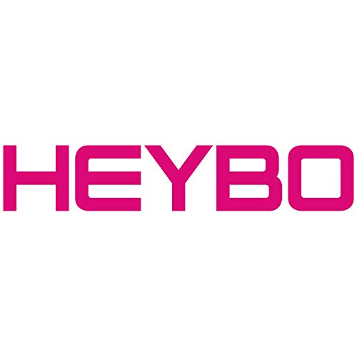 "Heybo Diecut 6"" Window Decal (Pink)"