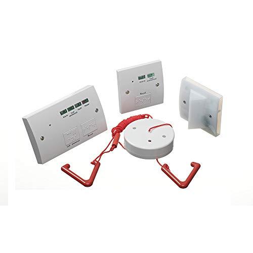 LightHub - Kit de sistema de WC accesible para alarma de inodoro