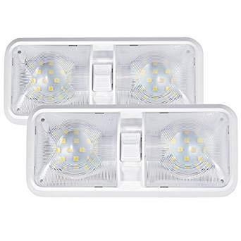 Kohree Set di 4 Lampade LED da 12V Plafoniere Tetttuccio Illuminazione interna per auto//RV//Rimorchio//camper//barca Luce Bianco Caldo 3000K