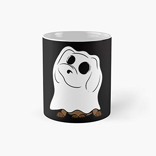 Taza clsica con diseo de bruja negra Magic Boo Candy con diseo de pata de perro, diseo de pata de mam de perro, taza clsica | El mejor regalo divertidas tazas de caf de 11 onzas