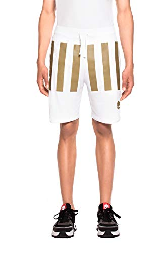 Short Hydrogen Tech Stripes US OPEN White Gold - S