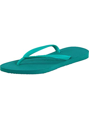 Havaianas Women's Flip Flop Sandals, Mint Green, 5 UK (39/40 EU 37/38 BR)