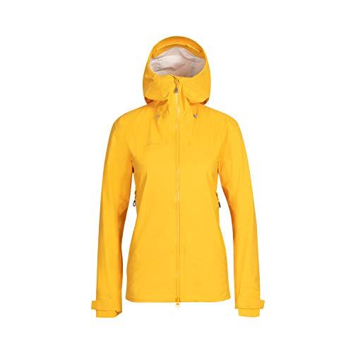 Mammut Kento Hooded Veste Hardshell Femme Freesia FR : L (Taille Fabricant : L)