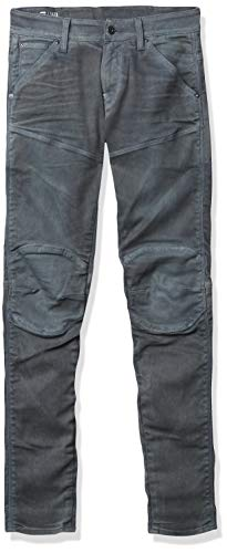 G-STAR RAW Herren Jeans 5620 Elwood 3D Skinny, Grau (Dk Aged Cobler 7863-3143), 38W / 34L