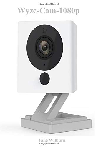 Wyze-Cam-1080p: HD Indoor WiFi Smart Home Camera with Night Vision, 2-Way Audio, Works with Alexa & the Google Assistant, White, 1-Pack