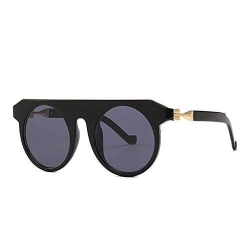 WSXOKN Sonnenbrillen Männer Frauen UV400 Fashion Round Neue Sonnenbrillen Vintage Googles Special Circle Brillenbeschichtung