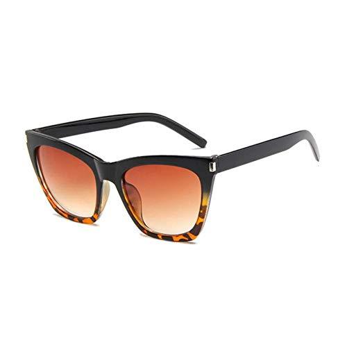 ZZOW Gafas De Sol De Ojo De Gato De Gran Tamaño Retro A La Moda para Mujer, Gafas De Diseño De Marca para Decoración De Uñas, Gafas De Sol para Hombre, Gafas De Sol Uv400