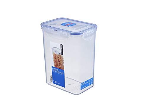 Lock & Lock HPL 813 Boîte spécifique à farine 1,8 l Etanche à 100% air et liquide,