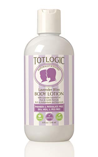 TotLogic Kids and Baby Safe Natural Body Lotion - 8 oz...