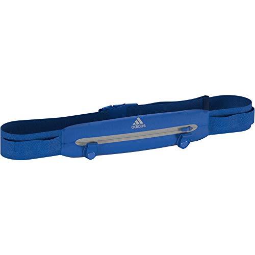 adidas Run Belt Cinturón, Unisex Adulto, azuglo/azuglo/Refsil, Talla Única