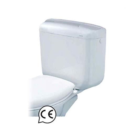 Cassetta wc Bampi Monoblocco da installare direttamente su wc doppio tasto 3 e 7 litri erogabili