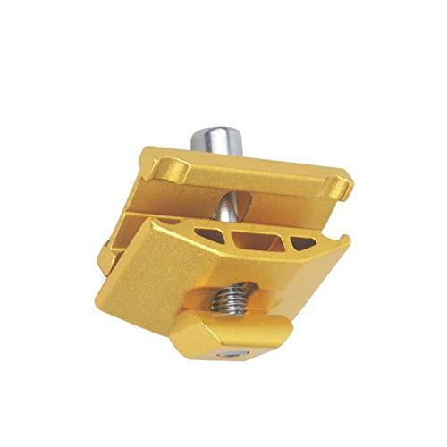 Mtb Road Bike Seat Rod Post Clip Sillín tubo cabeza tornillo abrazaderas aleación de aluminio oro