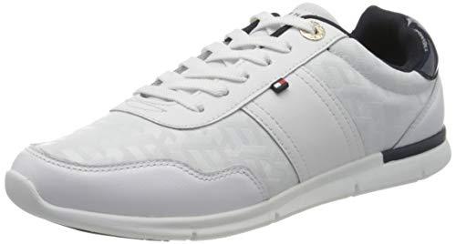 Tommy Hilfiger Damen Skye 23c Sneaker, Beige (White Ybs), 42 EU