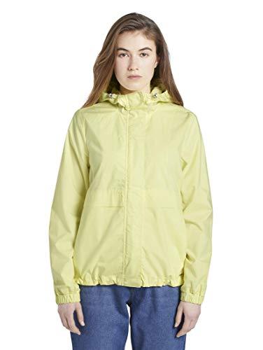 TOM TAILOR Denim Damen Jacken Windbreaker mit Kapuze Daffodil Yellow,M,16946,3000