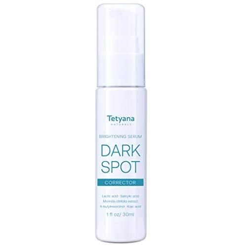 Tetyana Dark Spot Corrector Brightening Serum For Face and Body-effective...