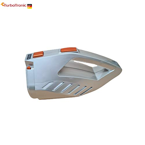 Ersatzakku silber für Akku Staubsauger Turbotronic LUX300, TT300 TT-500 TT-750, Grundgerät