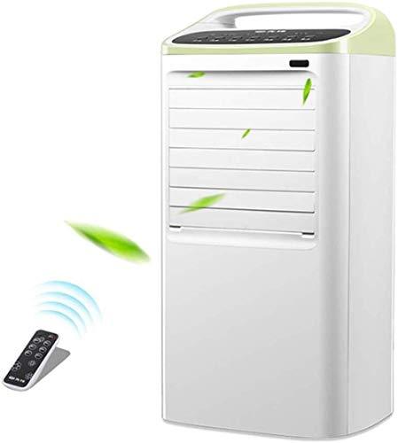 AIAIⓇ Tragbare Klimaanlage Doppelschlauch, Mobile Klimaanlage Home Timing Einzelkaltfernbedienung Cold Plus Eiskristallkühlschrank Im Sommer kühl halten