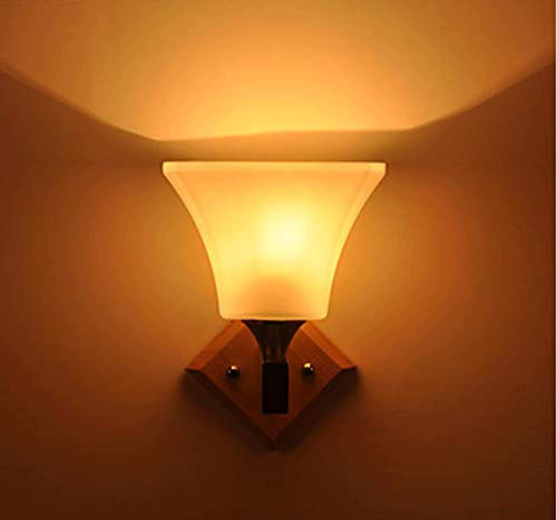 Moderne Glas-LED-Innenwandleuchte, die Wandleuchte beleuchtet