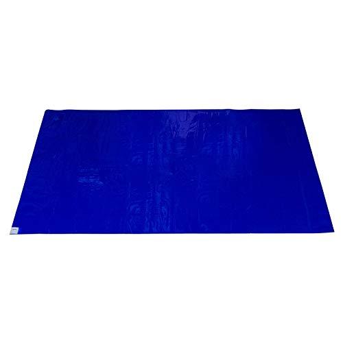 ALLEGRA Schmutz-Klebematte für Renovierungen mit 30 abziehbaren Klebeschichten Malervlies Abdeckfolie Maler Filzmatte Folie für Boden