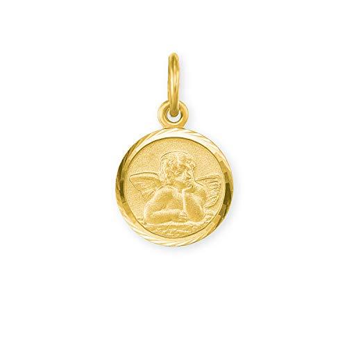 amor Anhänger Unisex aus Gold 585/14 ct, Engel | Taufe