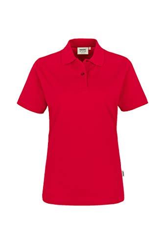 "HAKRO Damen Polo-Shirt ""Top"" 224 - rot - Größe: XXL"