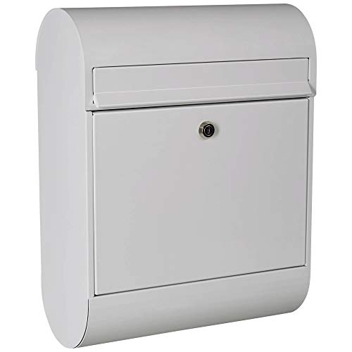 Casaya Briefkasten 864, weiß 35 cm