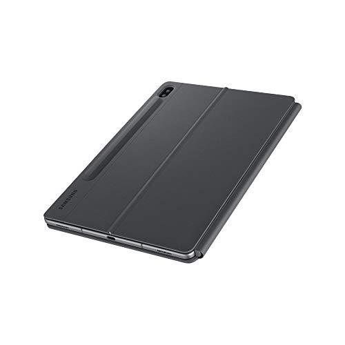 Samsung Book Cover Keyboard EF-DT870 - Clavier et étui - avec pavé Tactile - POGO pin - Noir - pour Galaxy Tab S7